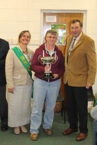 Eleanor Attridge winner of overall exhibitor